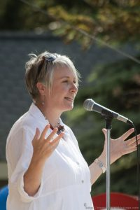 Patty Hajdu, an MP and cabinet minister, represented the federal government.