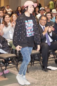 Angela Gladue at Calgary City Hall 2014-06-14