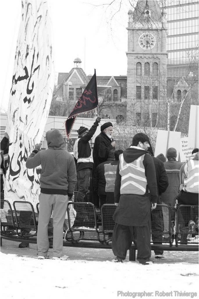 Islamic Gathering at Olympic Plaza