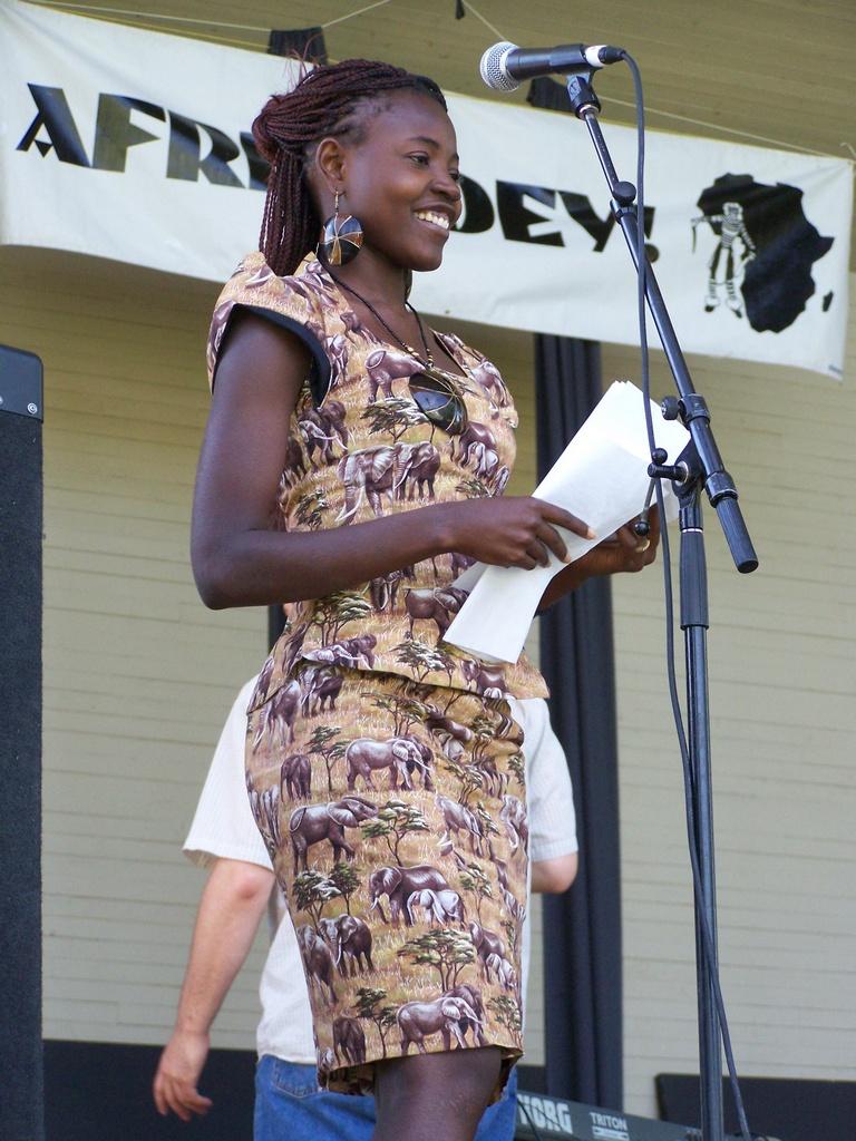 Co-Host of Afrikadeyes 01