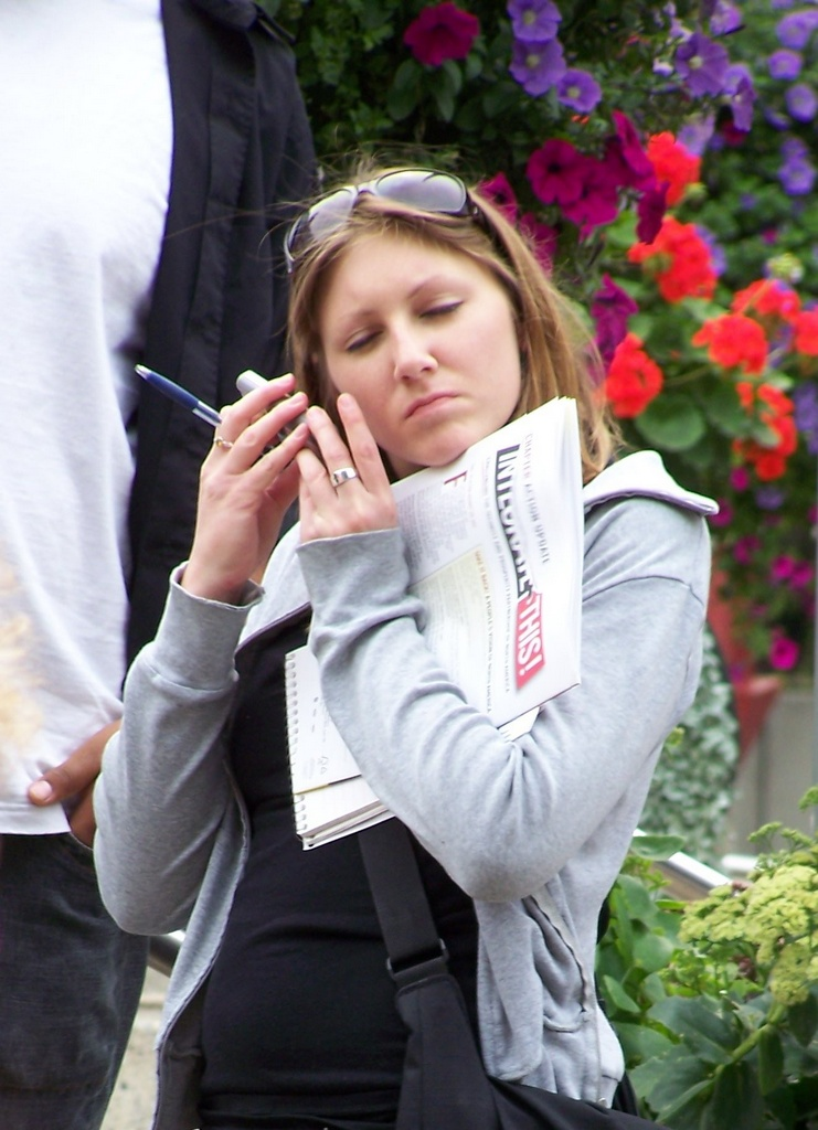 Katie Schneider on cell