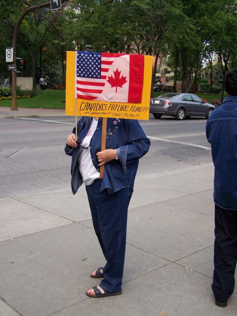 Canada's Future Flag