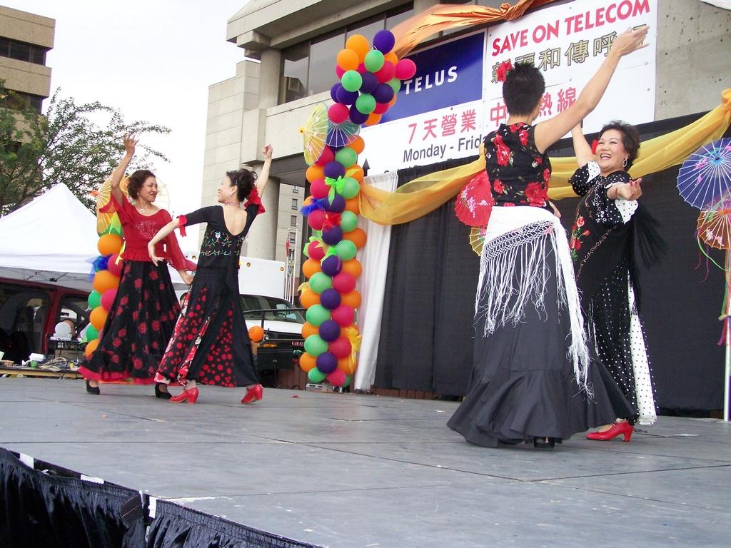 Flamenco in Chinatown 4