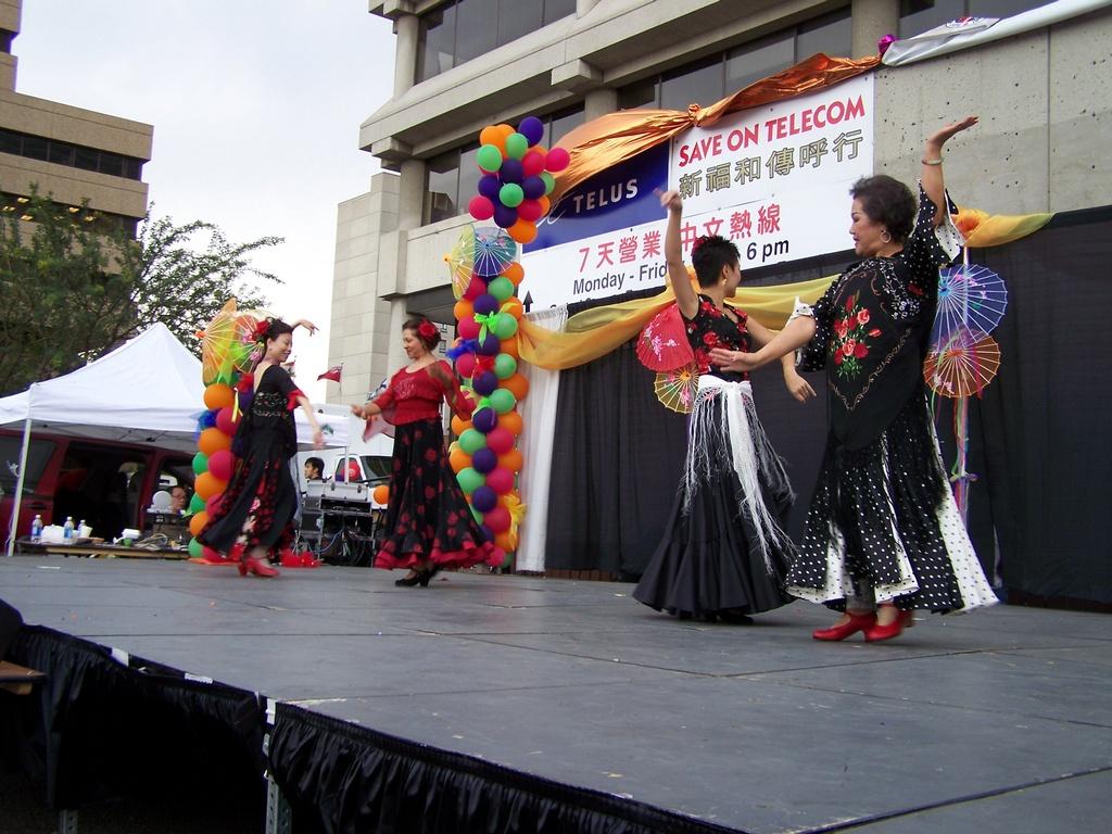 Flamenco in Chinatown 6