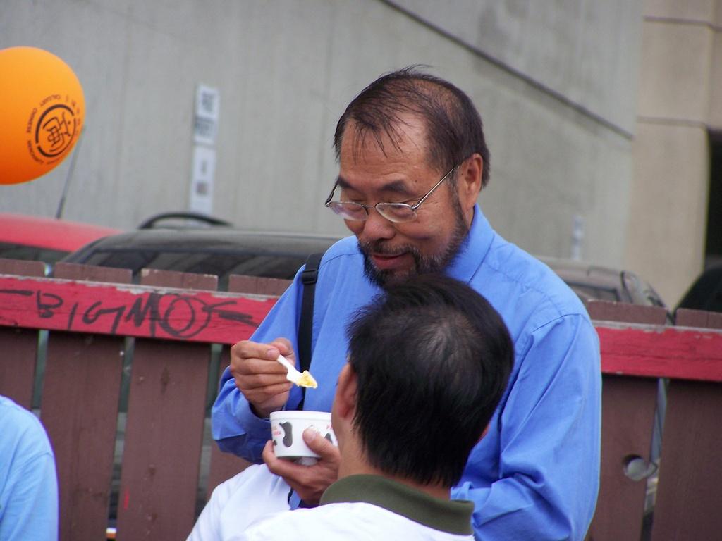 Wayne Cao Eating