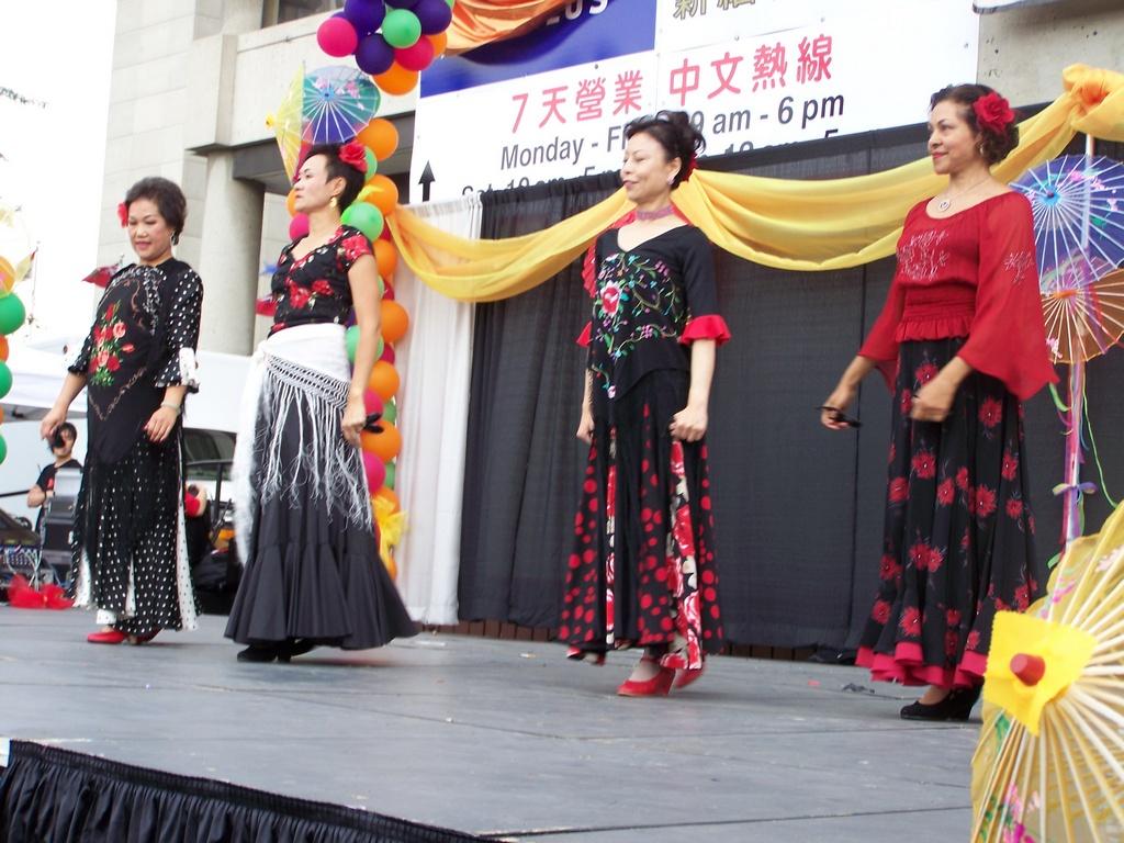 Flamenco in Chinatown 1