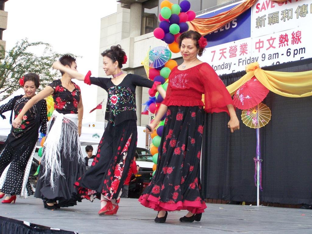 Flamenco in Chinatown 2