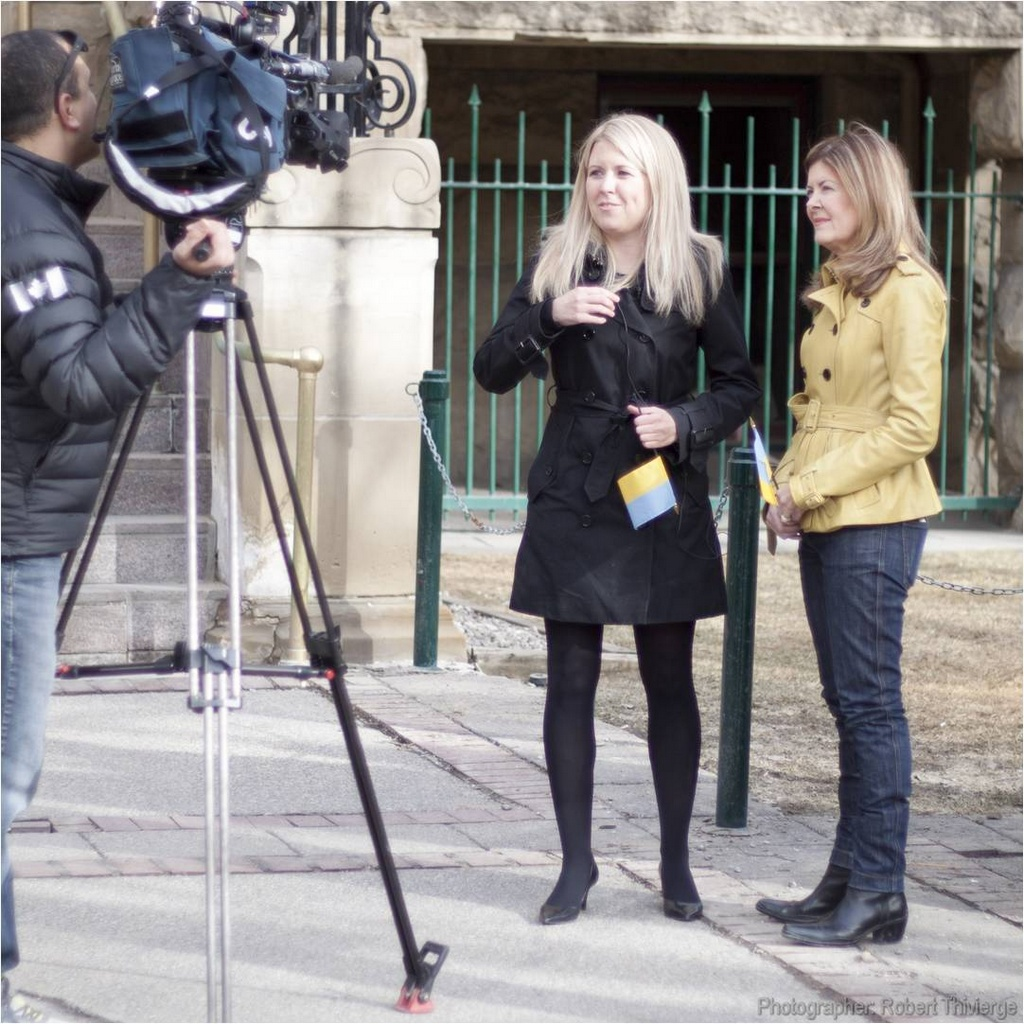 Michelle Rempel and Joan Crockatt for Ukraine
