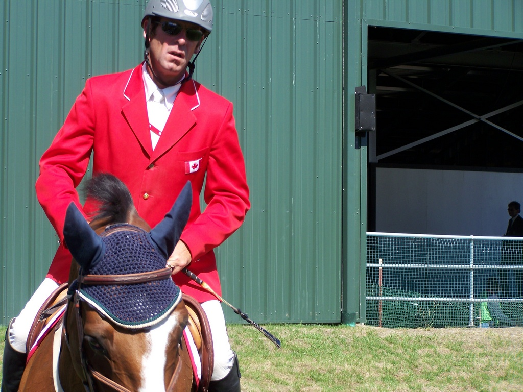 Canadian Practice at Spruce Meadows 1