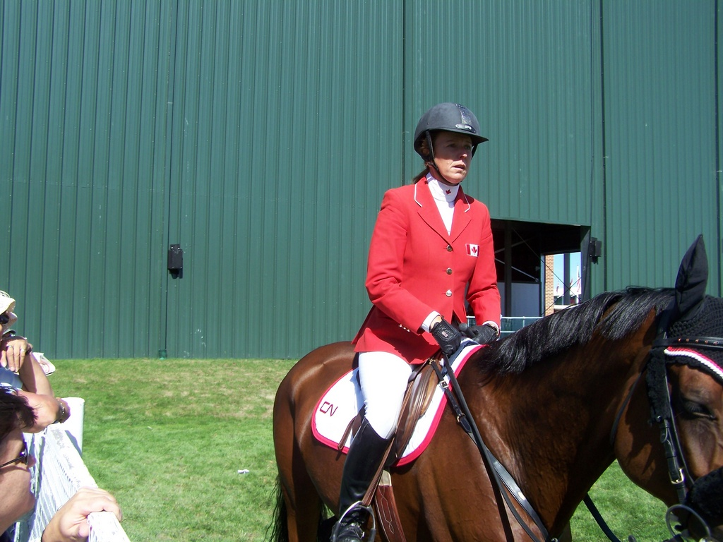 Canadian Practice at Spruce Meadows 3
