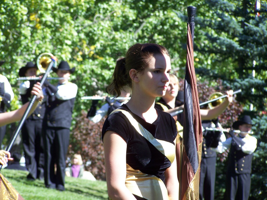 Calgary Stetson Show Band at Spruce Meadows 06