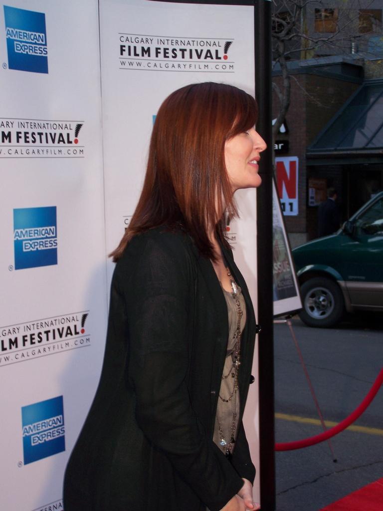 Leah Sarich at film festival 3