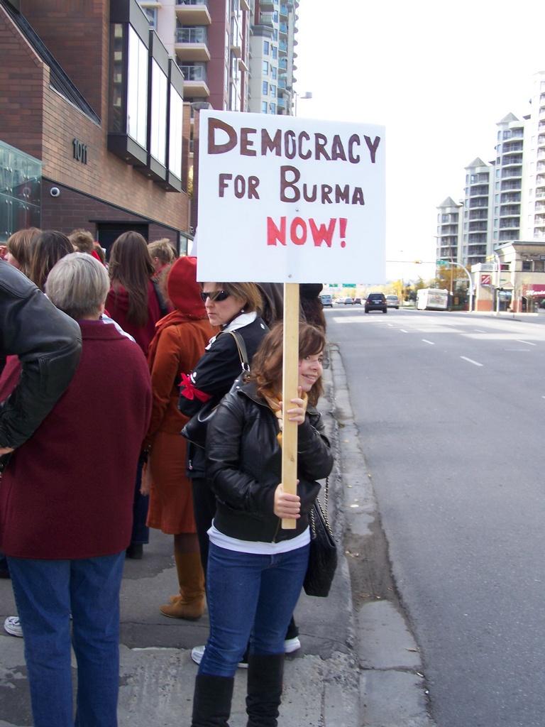 Democracy for Burma Now 7