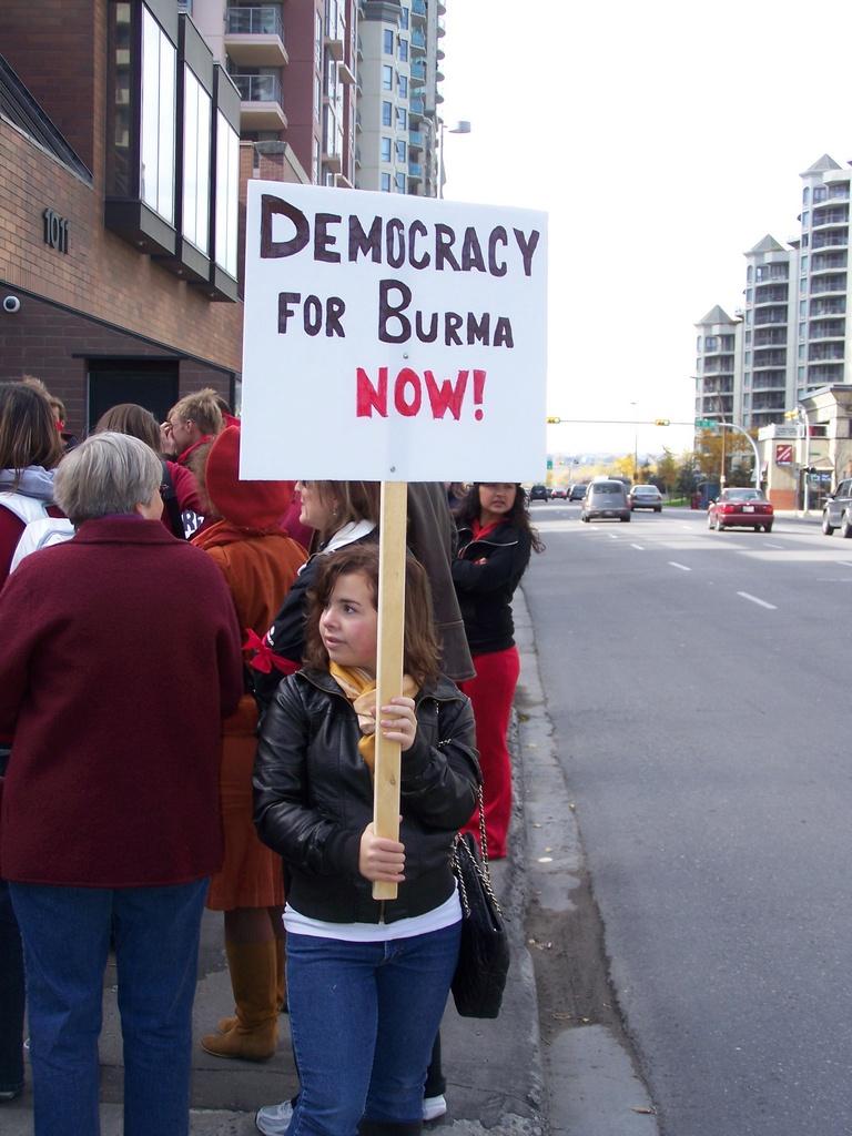 Democracy for Burma Now 8