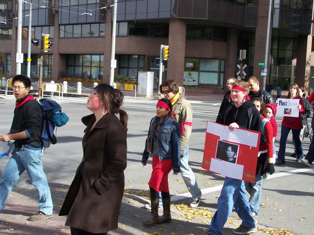 March for Burma in Calgary 031