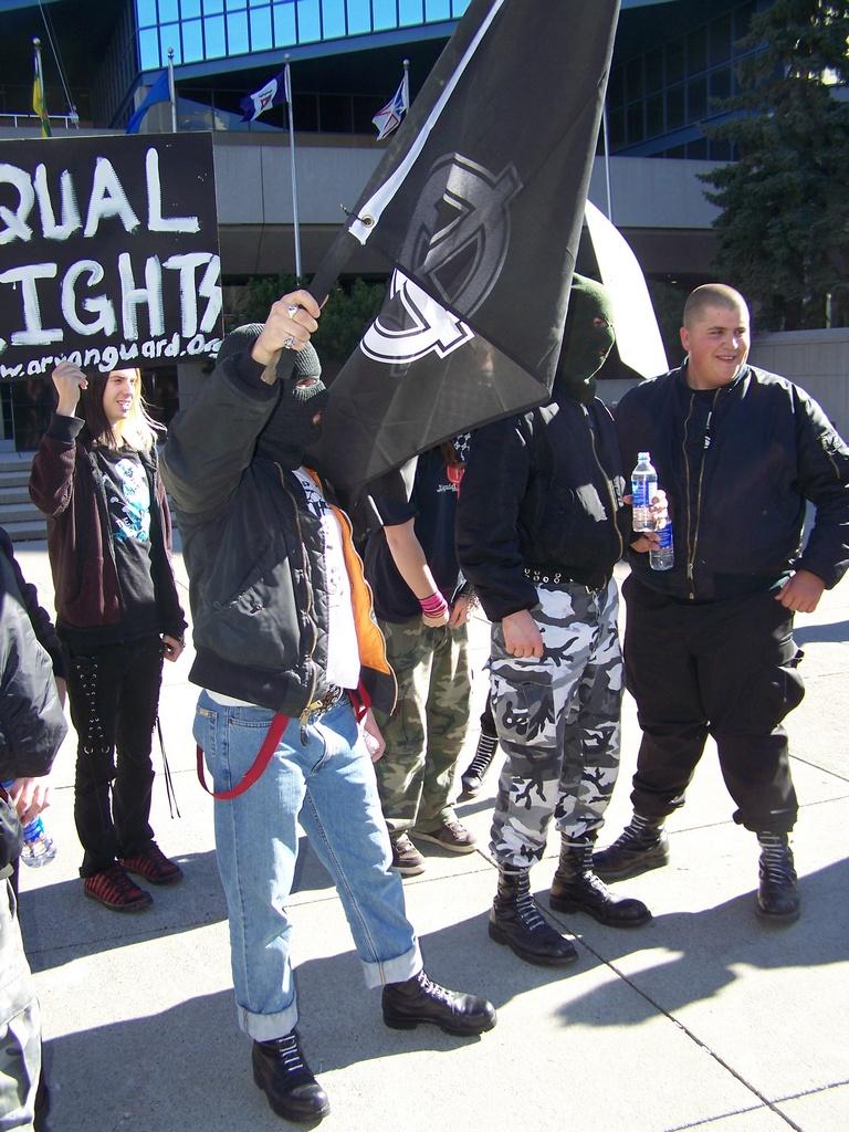Racism Rally 2007-10-14 050