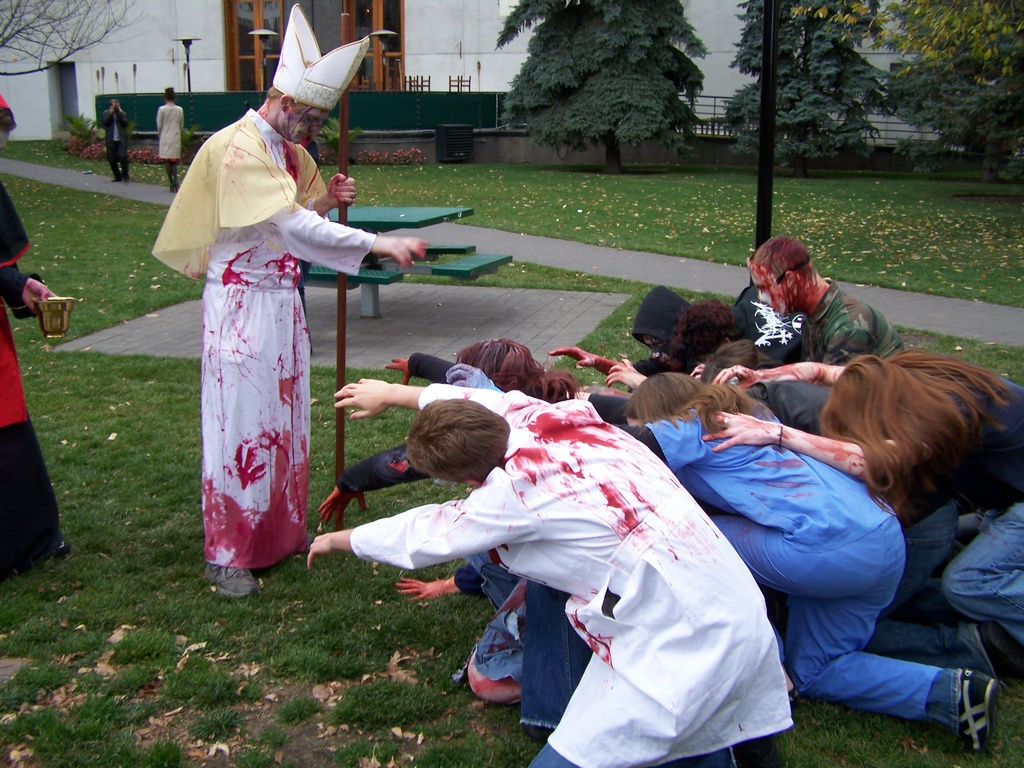 Bow to the Zombie Pope