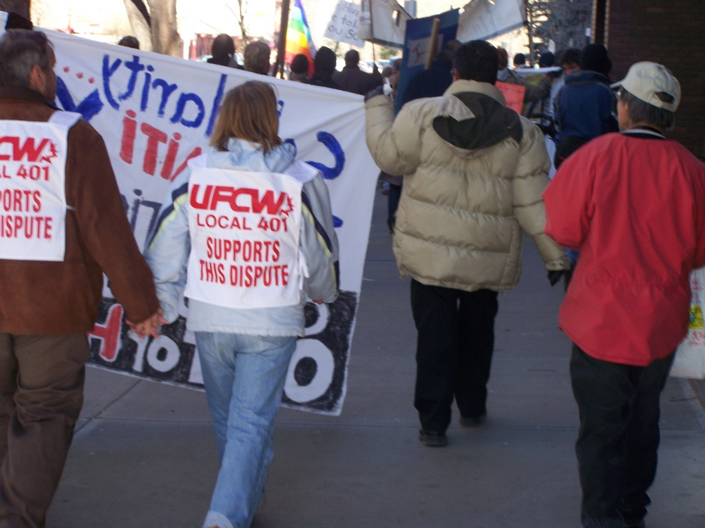 UFCW Supports this dispute