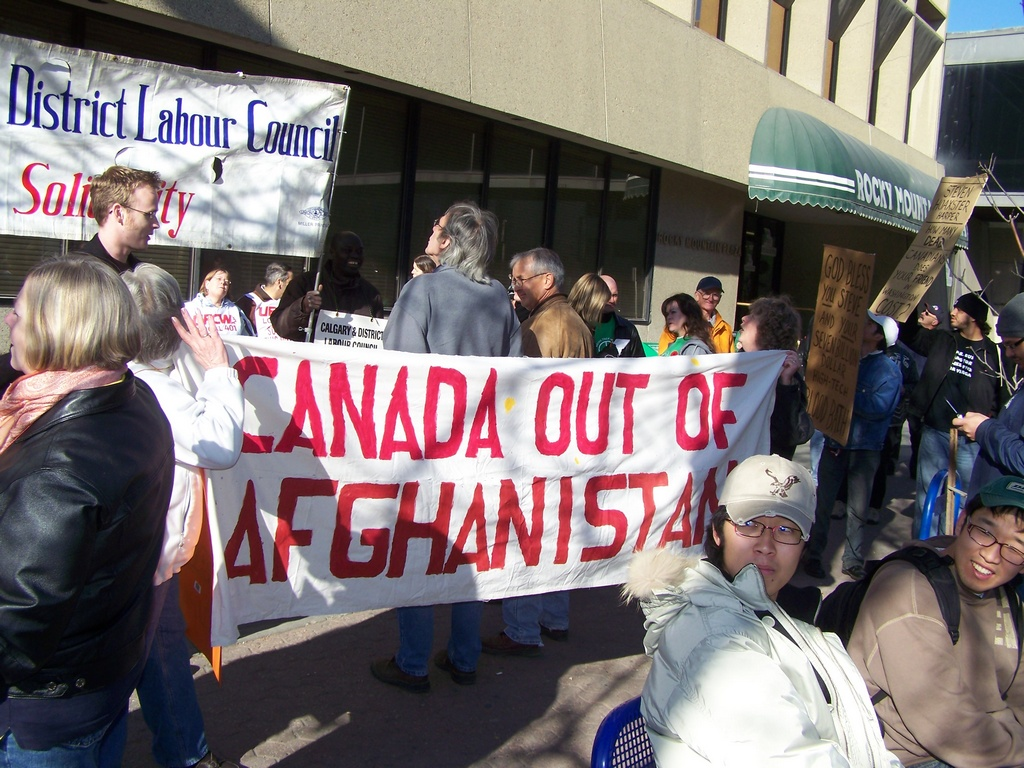 Canada Out of Afghanistan 2