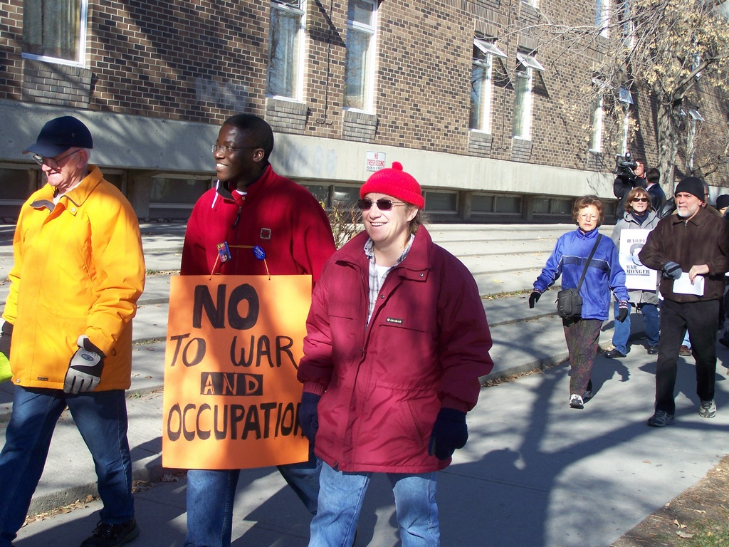 No To War and Occupation