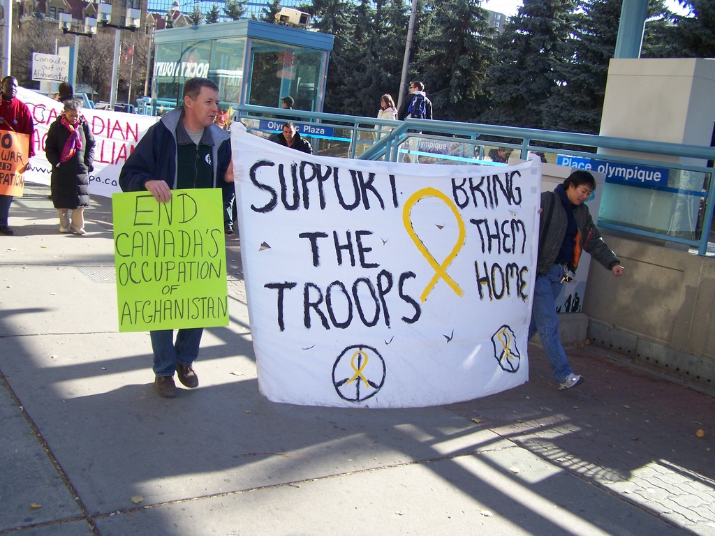 Support the Troops by the LRT platform