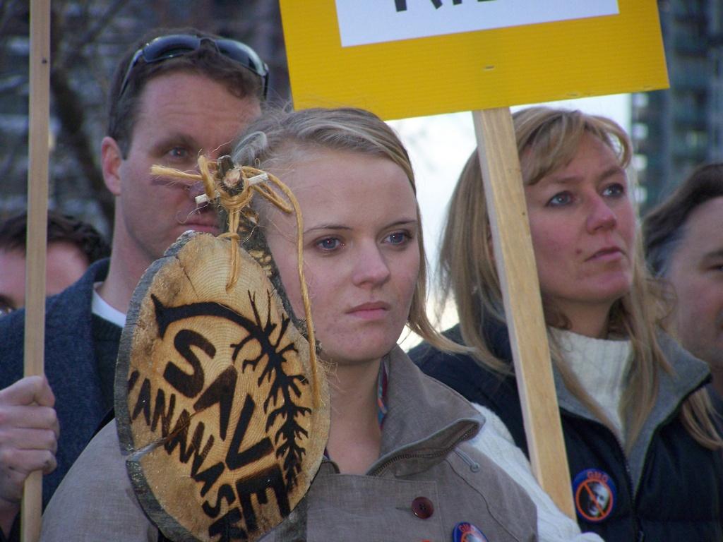 Rally for Kananaskis 2007-11-02 23