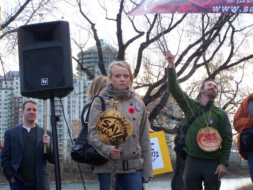 Rally for Kananaskis 2007-11-02 34