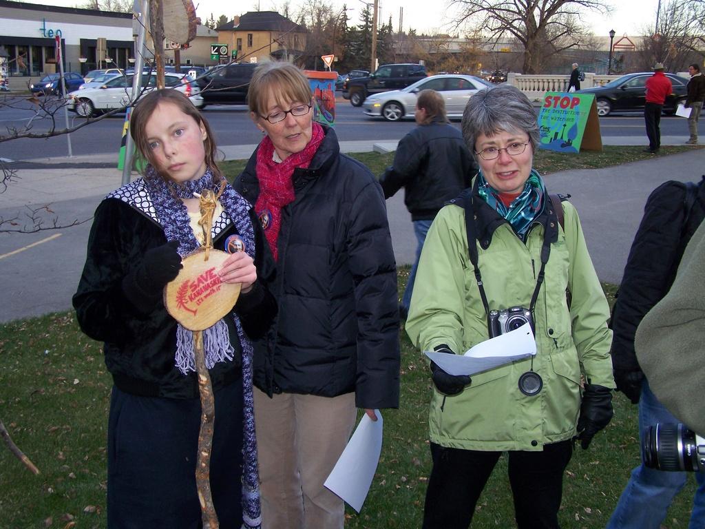 Rally for Kananaskis 2007-11-02 47