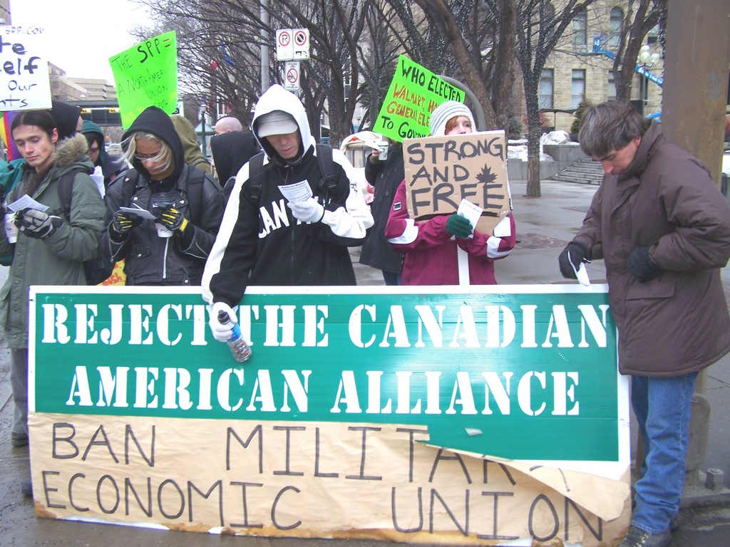 Reject the Canadian American Alliance
