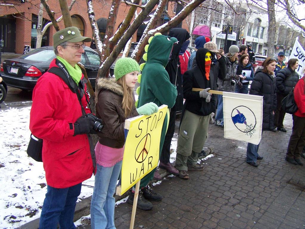 Stop War at Tomkins 2008-03-15 45