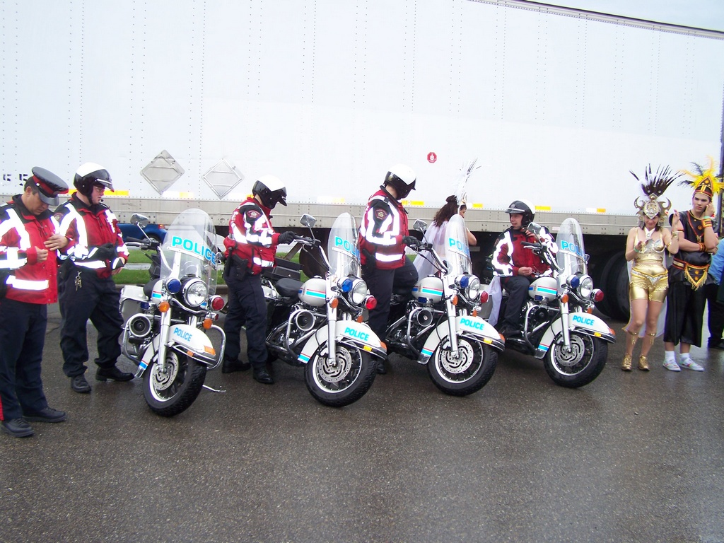 Carifest line of police motorcycles