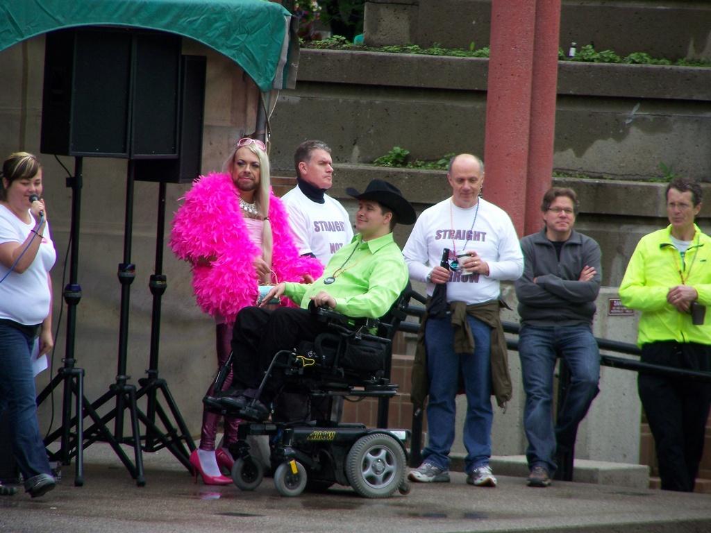 Pride speakers