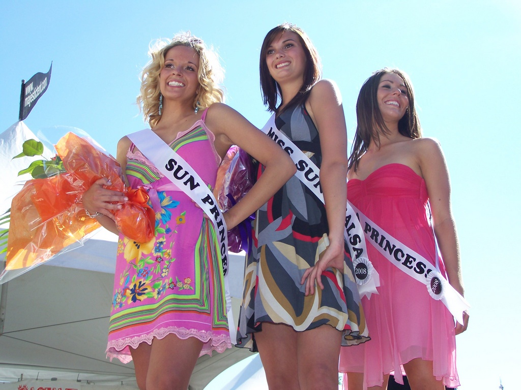 Miss Sun and Salsa 2008 Royal Trio