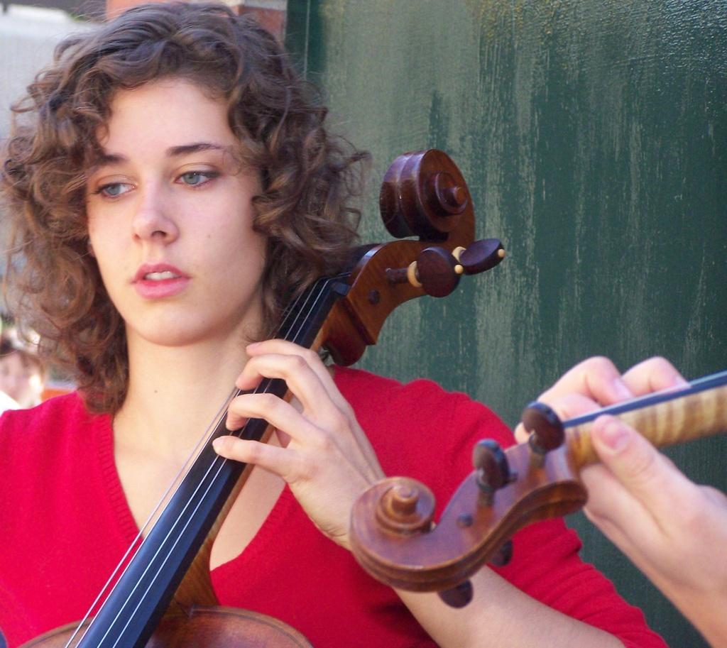 Cellist on Stephen Avenue 2