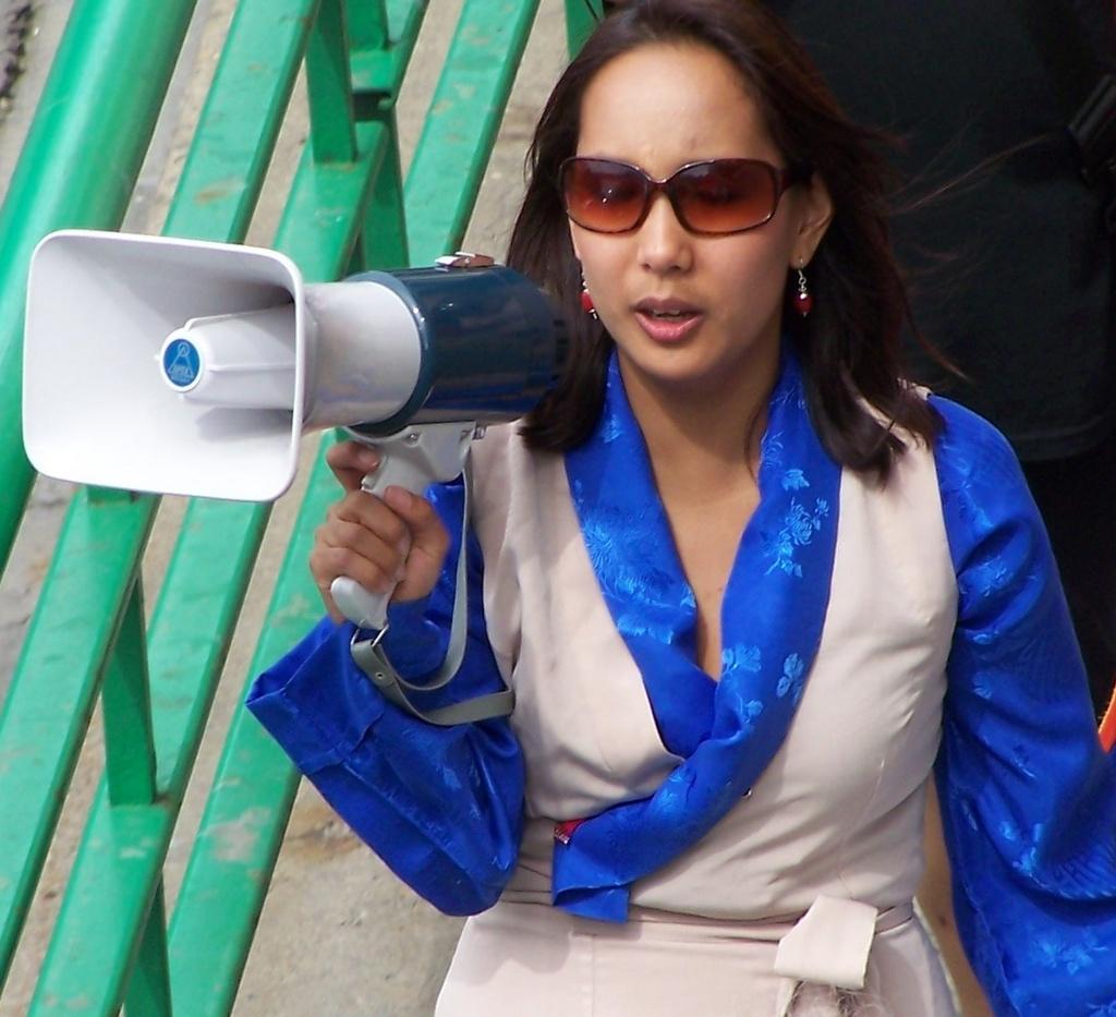 Megaphone for Tibet