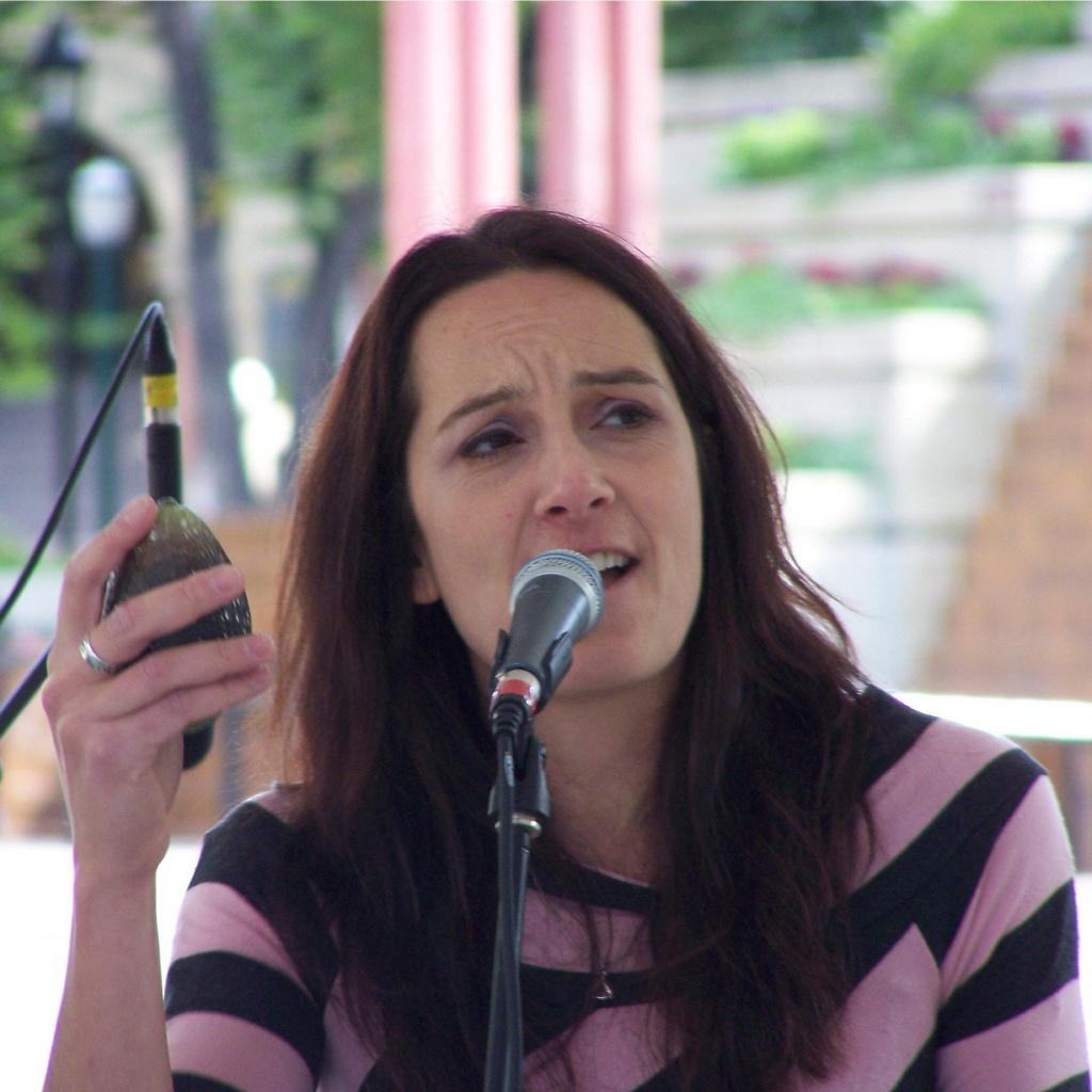 Emily Triggs sings