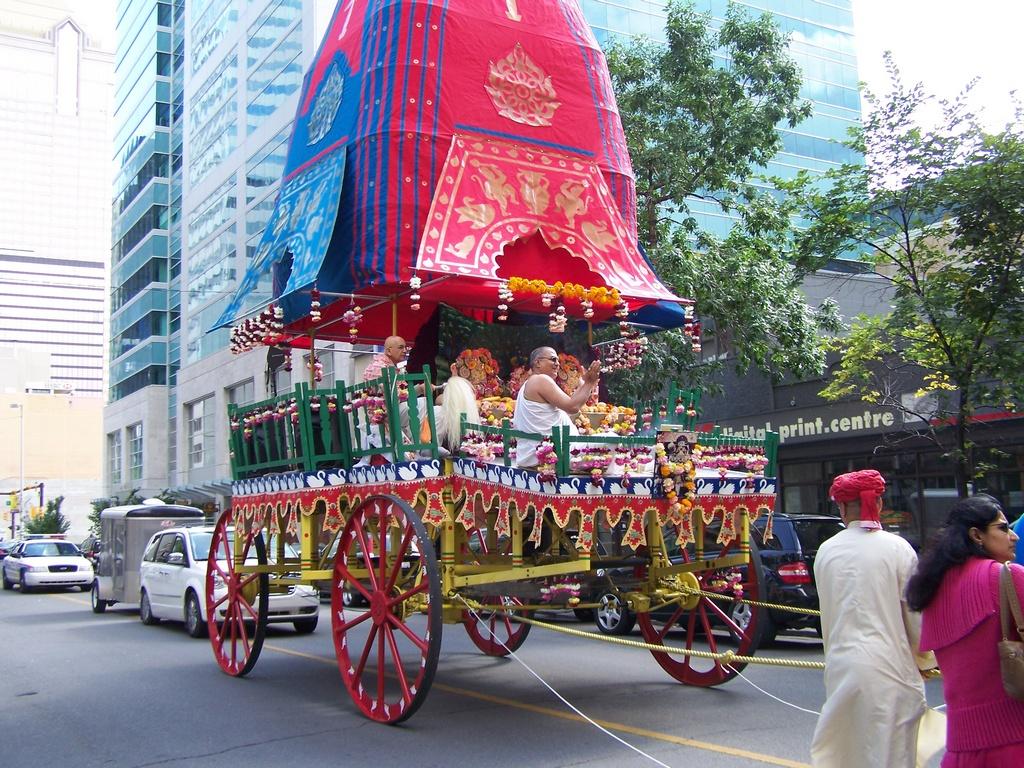 Hare Krishna Rath Yatra Chariot 1