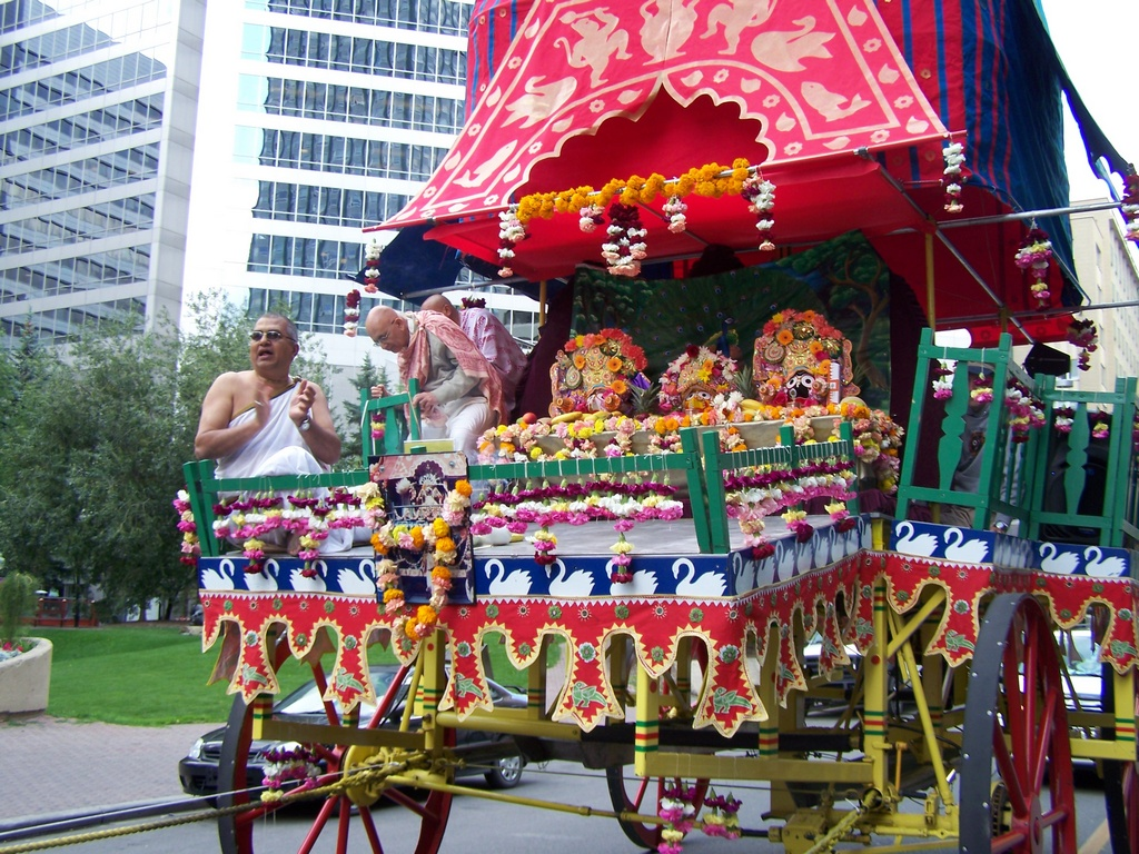 Hare Krishna Rath Yatra Chariot 3