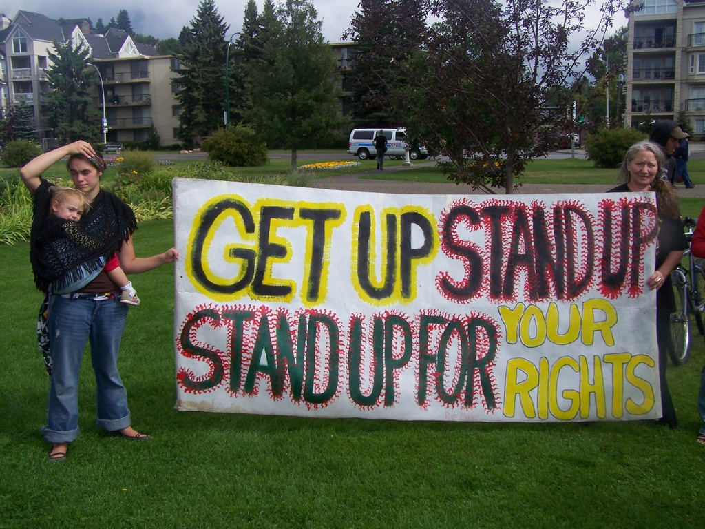 Stand up for your rights at Riley Park