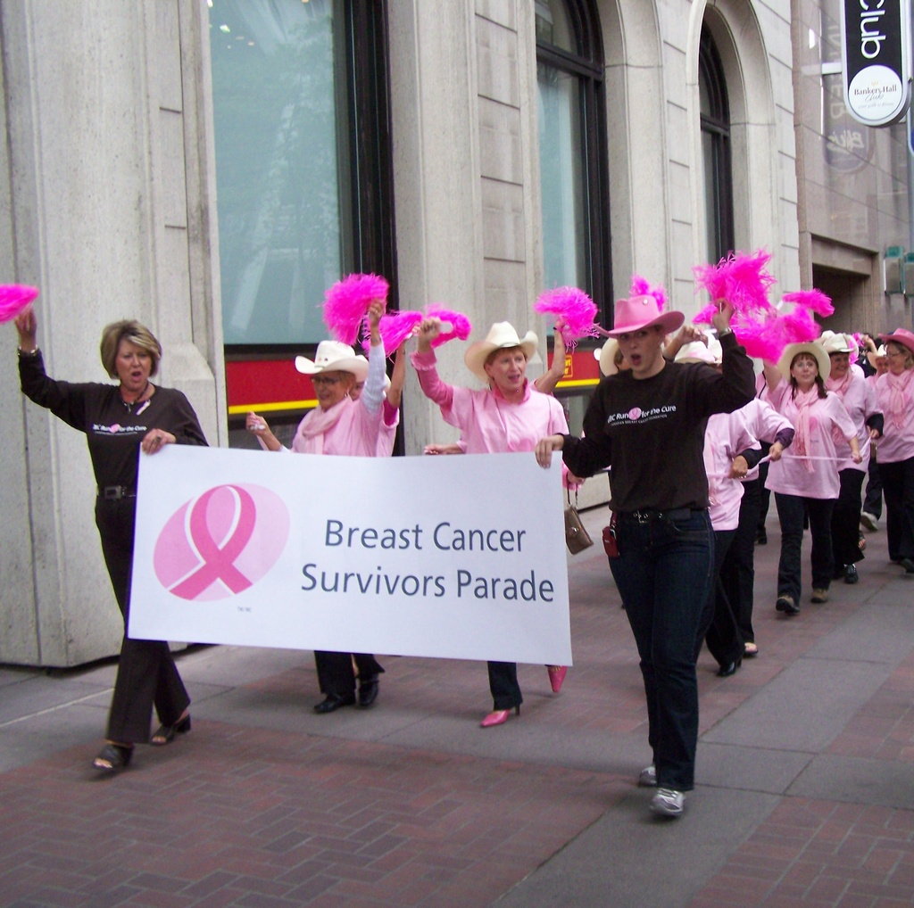 Lots of Breast Cancer Survivors