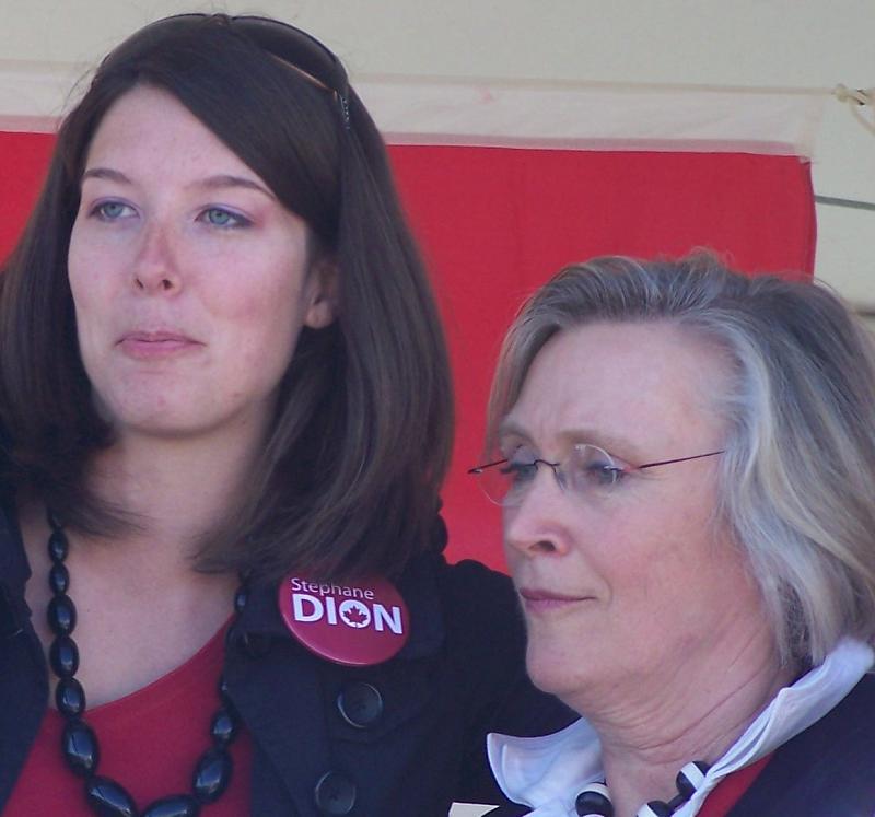 Jenn Turcott and Carolyn Bennett