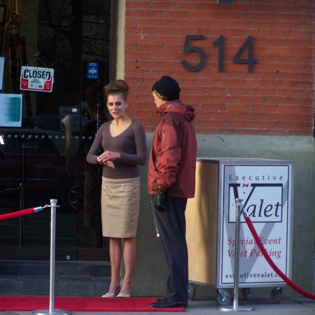 Calgary red carpet for Karl Rove