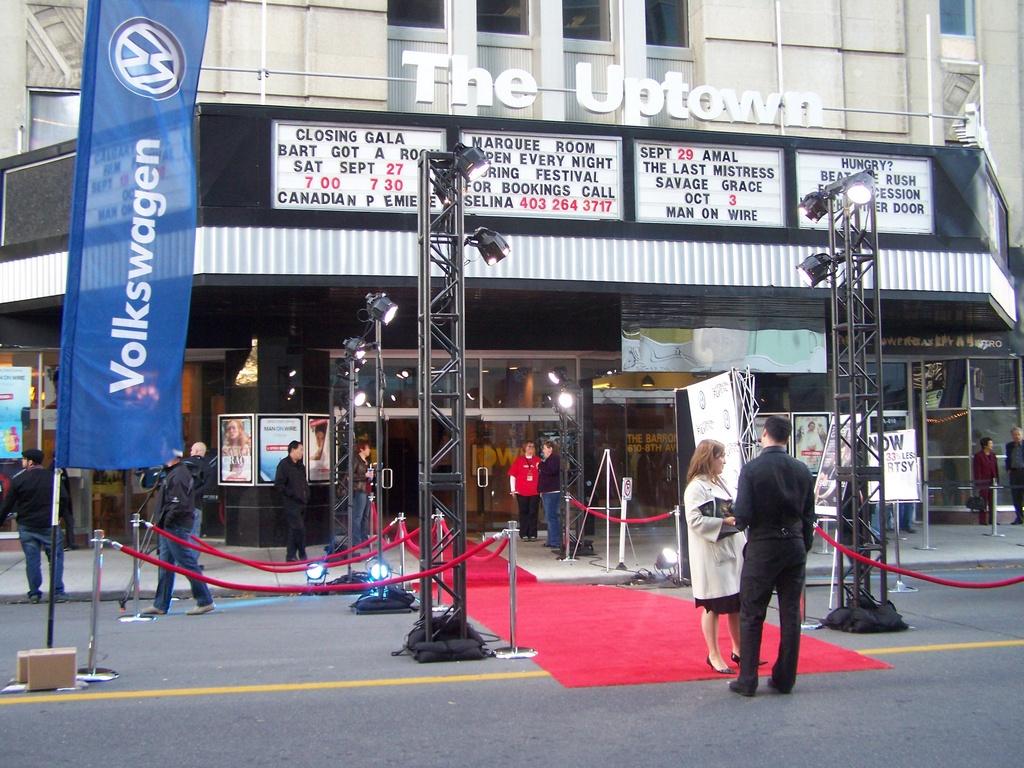 Calgary Film Festival Closer 2008