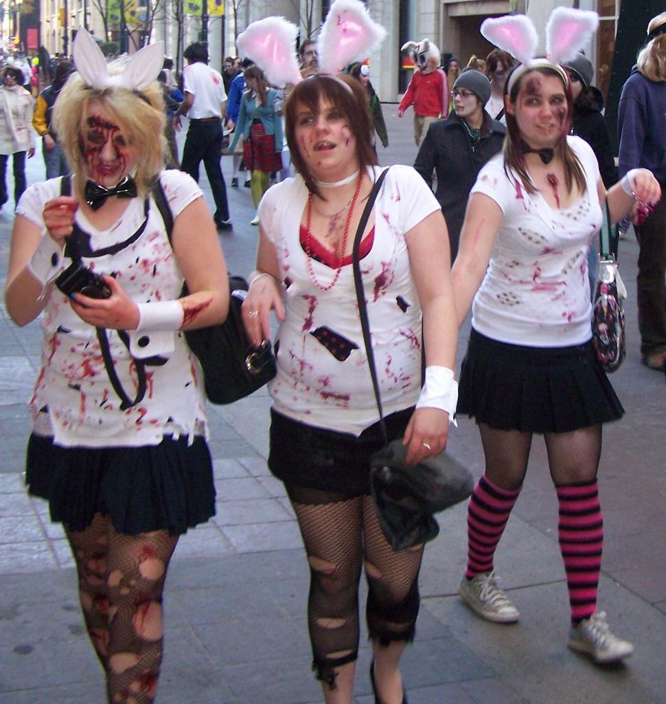 Bunny Girl Zombies