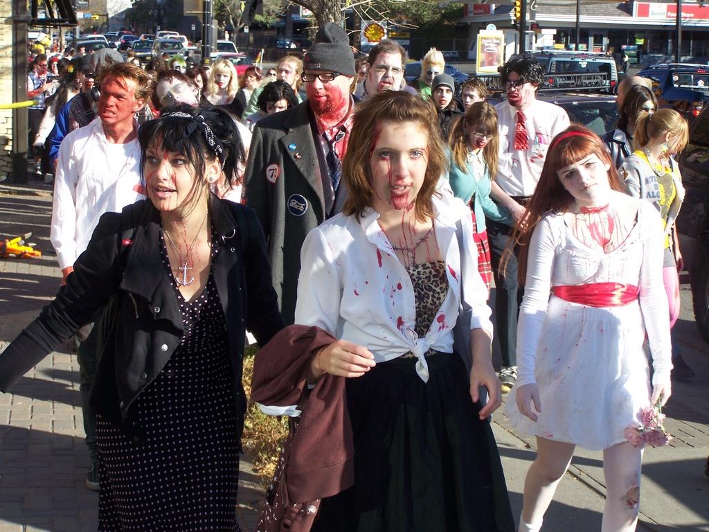 Dead Mile:  Calgary Zombie Walk
