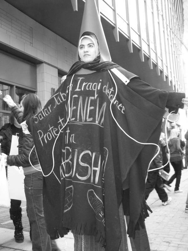 Abu Ghraib prisoner doesn't like Bush
