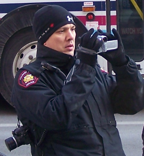 Calgary Police Service Camcorder