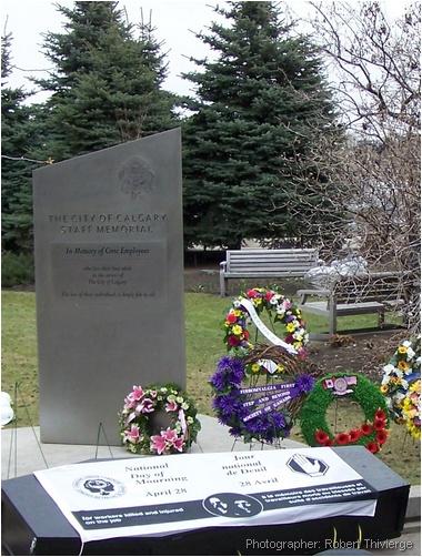 City of Calgary Workers' Memorial