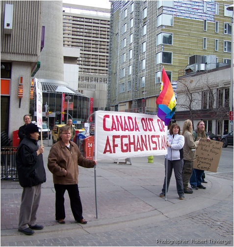 Canada out of afghanastan