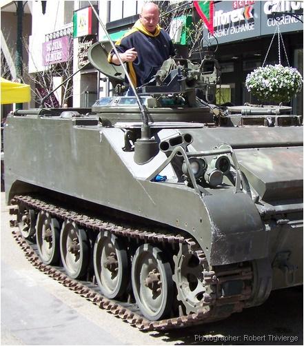 Armoured in Calgary